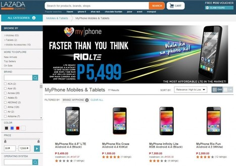MyPhone Agua RIO LTE The Most Affordable 4G LTE Smartphone   TechConnectPH News   Scoop.it