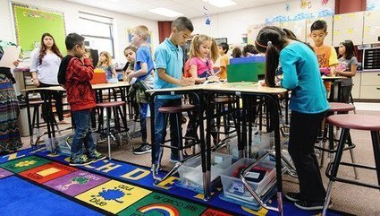 Classroom Exercise Equipment Has Benefits for Students, Studies Show - Teaching Now - Education Week Teacher | EuroSys Education | Scoop.it