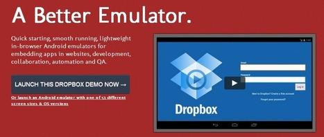 Manymo, el emulador de Android en la web   apps educativas android   Scoop.it