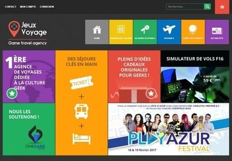 Bordeaux : Jeux Voyage, l'agence en ligne 100% geek, vise l'international | E-tourisme et communication | Scoop.it