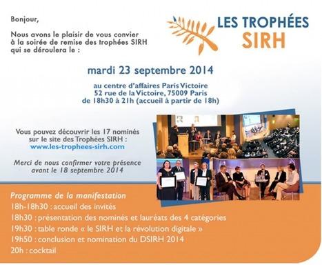 Trophées SIRH 2014 : découvrez les 16 nominés I Carole Blancot   Entretiens Professionnels   Scoop.it