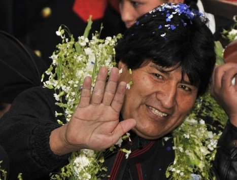 Operation Naked King: U.S. Secretly Targeted Bolivia's Evo Morales In Drug Sting | Drugs, Society, Human Rights & Justice | Scoop.it