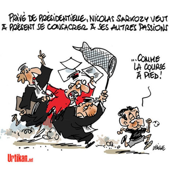 Et maintenant, que va faire Nicolas Sarkozy ? | Baie d'humour | Scoop.it