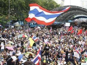 Thaïlande: manifestation anti-gouvernementale à Bangkok | Thailande Info | Scoop.it