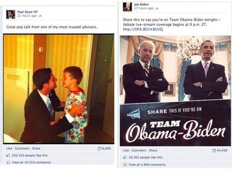 Paul Ryan wins the social media battle at the VP debate - San Francisco Chronicle (blog) | Social Media Profiles | Scoop.it