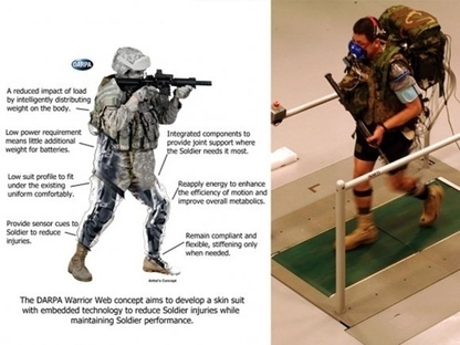 Emerging battlefield technology borrows from science fiction - Stars and Stripes | I want more science fiction | Scoop.it