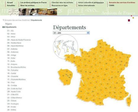 Annuaire des Archives Départementales et Communales | Ma Bretagne | Scoop.it