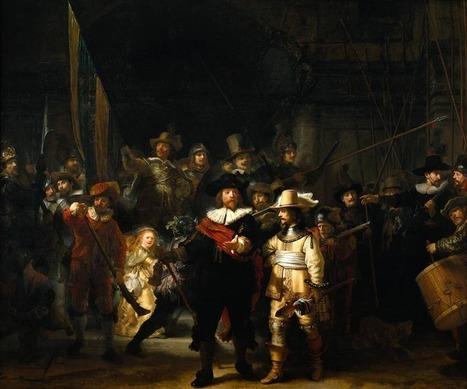 La ronda di notte di Rembrandt | Enseñar Geografía e Historia en Secundaria | Scoop.it