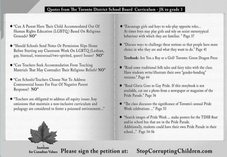 Comments section terrifying> Canadian Anti-Transgender Ad: 'Stop Confusing' Children | It has to get better | Scoop.it