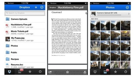 Dropbox for iOS update adds a PDF viewer and file share notifications | App Buzz | Scoop.it