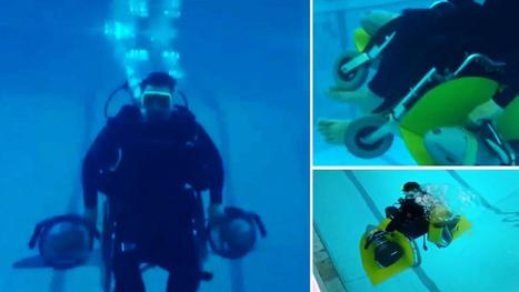 Disabled diver invents Scuba Chair - the first affordable underwater wheelchair | ScubaObsessed | Scoop.it