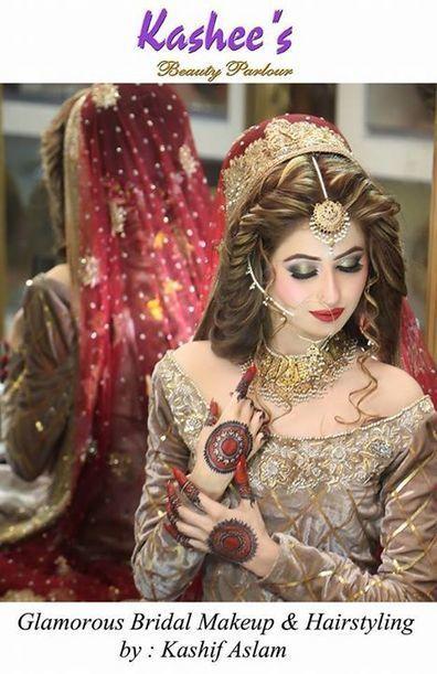 Collection Of Kashif Aslam Bridal Makeup