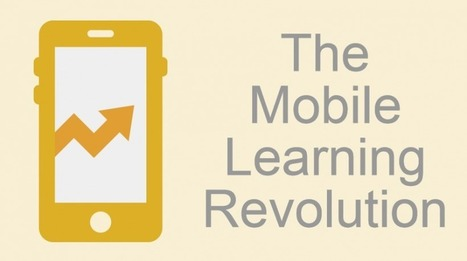 6 Mobile Learning Benefits: The Mobile Learning Revolution - eLearning Industry | Learning Bytes from The Consultants-E | Scoop.it