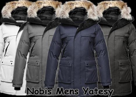 Nobis Yatesy Parka Navy