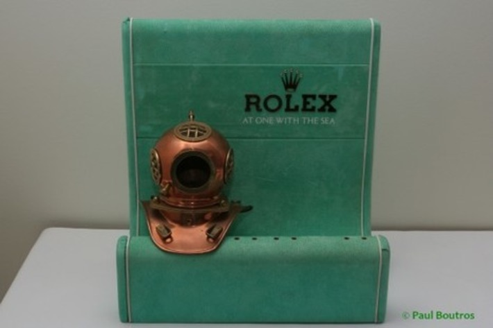 Collectible Vintage Rolex Diving Watches On Display | Antiques & Vintage Collectibles | Scoop.it
