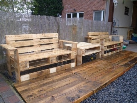 mon nouveau set de jardin pallets garden set 1001 pallets ideas scoop - Garden Ideas With Pallets