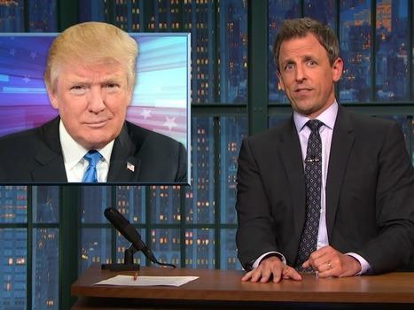 Seth Meyers digs deep into Donald Trump's history of reportedly stiffing people | Memorias de Orfeo | Scoop.it