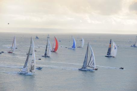 Plus de 30 bateaux au départ - CourseAuLarge | Class40 : l'actu course au large | Scoop.it