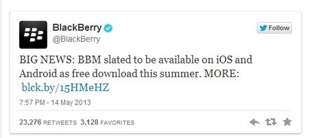 BBM Coming Soon To iOS and Android This Summer As A Free App | Apps for TBI Survivors | Scoop.it