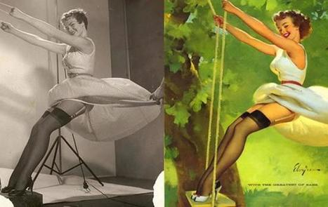 Meet The Real Women Behind Classic Pin-Up Paintings | HistoryInOrbit.com | xposing world of Photography & Design | Scoop.it
