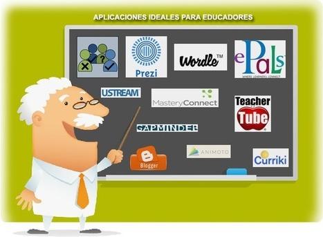 APLICACIONES IDEALES PARA EDUCADORES | elearning | Scoop.it