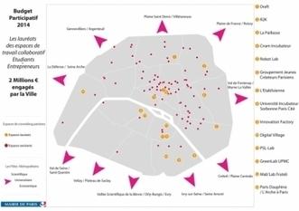 La Mairie de Paris va financer 14 espaces de coworking - leJDD.fr   Planète Projets : Gestion de projet - Travail collaboratif - Conduite du changement   Scoop.it