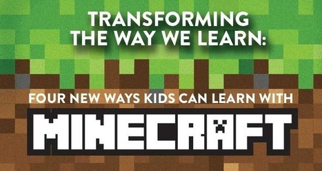 Minecraft In Pédagogie Technologie Scoopit