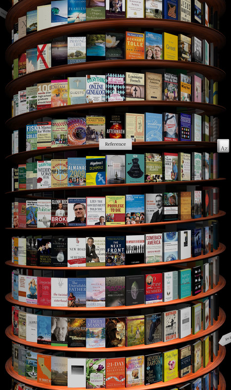 WebGL Bookcase | semanticweb30andcurationedtoolswith@web20education | Scoop.it