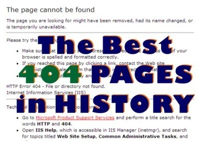Professional 404 error pages inspiration | java programing | Scoop.it