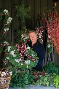P. Allen Smith Holiday Collection wreath giveaway. Let the season begin! | Gardening With Confidence with Helen Yoest | Annie Haven | Haven Brand | Scoop.it