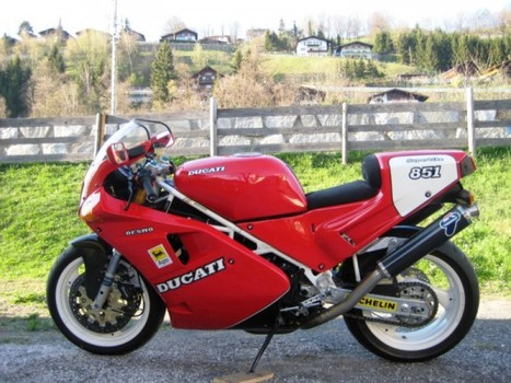 Rare SportBikes For Sale | Ducati 851 SP3 For Sale in Austria | Desmopro News | Scoop.it
