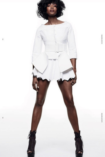 Naomi Campbell Covers Antidote Magazine Issue Spring Summer 2012   by  Styling Amsterdam 410d87769