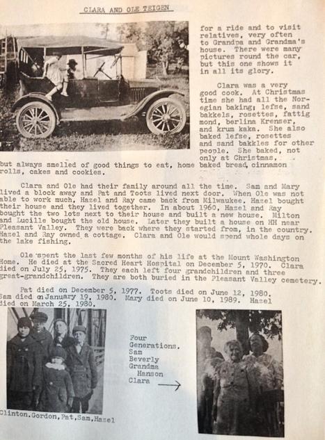 Histoire(s) de familles du monde : des Américains venus du froid > | Ecrire l'histoire de sa vie ou de sa famille | Scoop.it