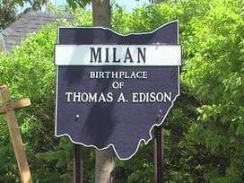 Milan, Ohio birthplace of Thomas Edison provides lighted path to the life of a great inventor | CLOVER ENTERPRISES ''THE ENTERTAINMENT OF CHOICE'' | Scoop.it