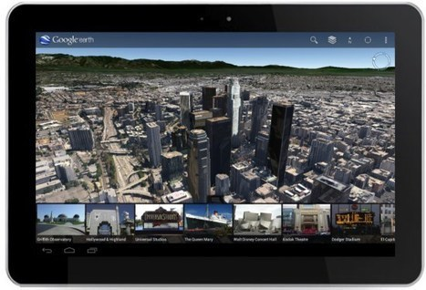 Google Earth A to Z: Terrain, Trees and Tours | Google Earth Blog | Google Earth | Scoop.it
