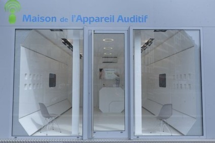 Magasin du futur ''spatial'' pour la Maison de l'Appareil Auditif avec le designer Nicolas Stadler... | fashion retail visual merchandising | Scoop.it