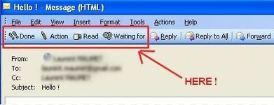 A very simple way to customize outlook to make it GTD friendly ! | Laurent Maumet | ProductivityTips | Scoop.it