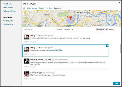 WordPress.com lance Media Explorer pour faciliter l'intégration de tweets et de vidéos dans un article | Social Media Curation par Mon Habitat Web | Scoop.it