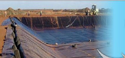 Sealing,waterproofing earth dams,swimming pools