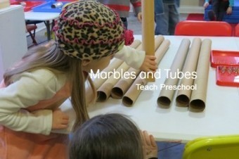 At play with marbles and tubes | Happy Days Learning Center - Resources & Ideas for Pre-School Lesson Planning | Scoop.it