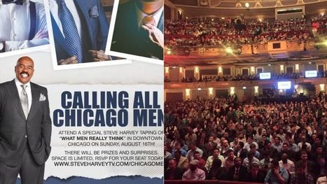 Men Go to Steve Harvey Show Taping on 'What Men Really Think' That Gets 'Too Rapey' | Adolescent Sexuality | Scoop.it