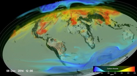 Eye-Popping View of CO2, Critical Step for Carbon-Cycle Science | Education for Sustainable Development | Scoop.it