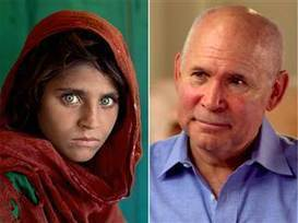 Iconic 'Afghan girl' image was almost cut, photographer reveals - TODAY.com | iPhoneography attempts and journalism | Scoop.it