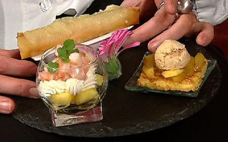 Pain perdu de foie gras aux pommes caramélisées - RTL.be | foie gras | Scoop.it