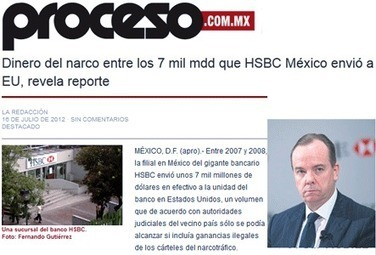 Hsbc bankster et blanchisseur d argent sale | Bankster | Scoop.it