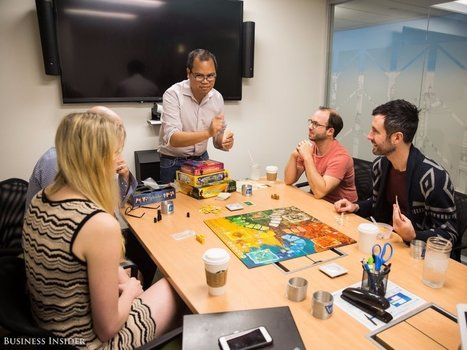 Take a look at what employees at companies like Facebook and LinkedIn do for fun in the office | All About LinkedIn | Scoop.it