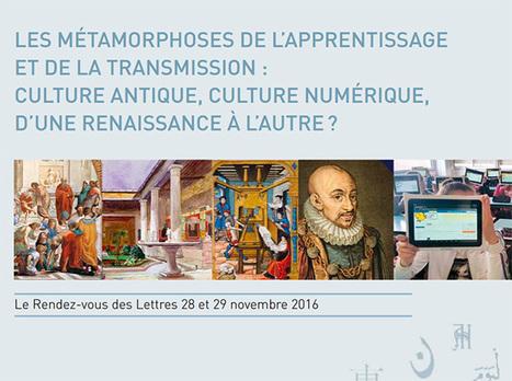 Brochure Rendez-vous des lettres 2016 - Éduscol | Usages numériques et Histoire Géographie | Scoop.it