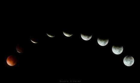 13 Images from This Week's Lunar Eclipse [Blood Moon] - Digital Photography School | Mobile Photography | Scoop.it