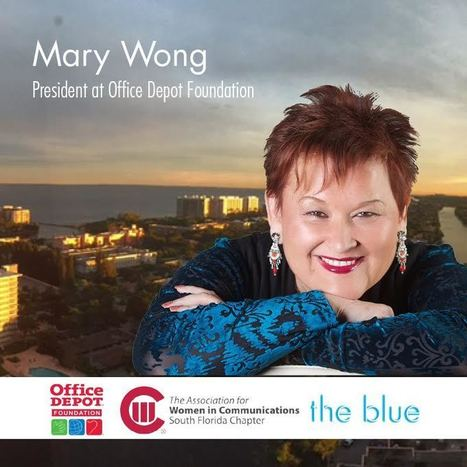 AWCSF January Meeting Will Honor Mary Wong, President of the Office Depot Foundation | Business News & Finance | Scoop.it