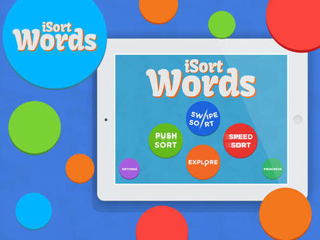 iSort Words - A Fun Way to Practice Word Families - App Review - | Word Games | Scoop.it